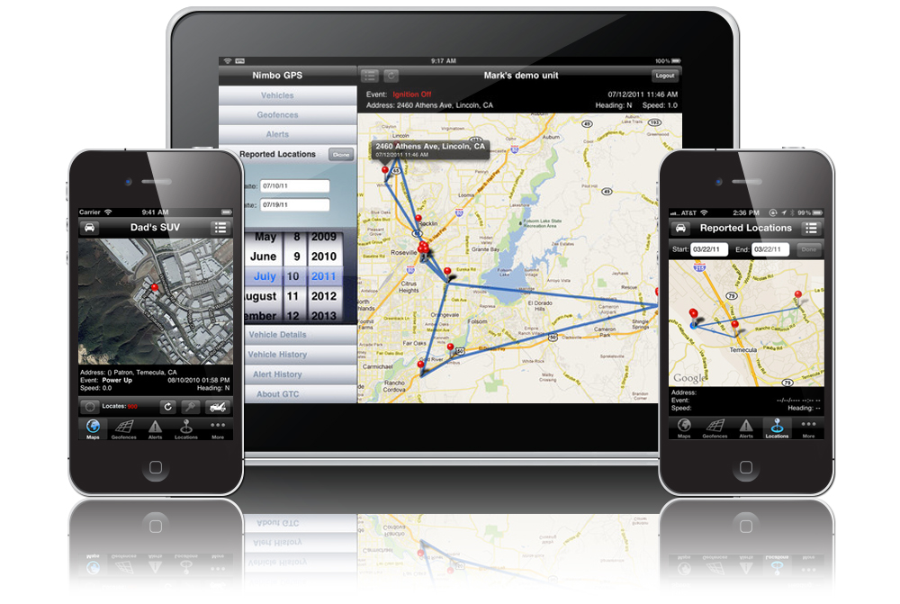 Mobile GPS Tracking Apps